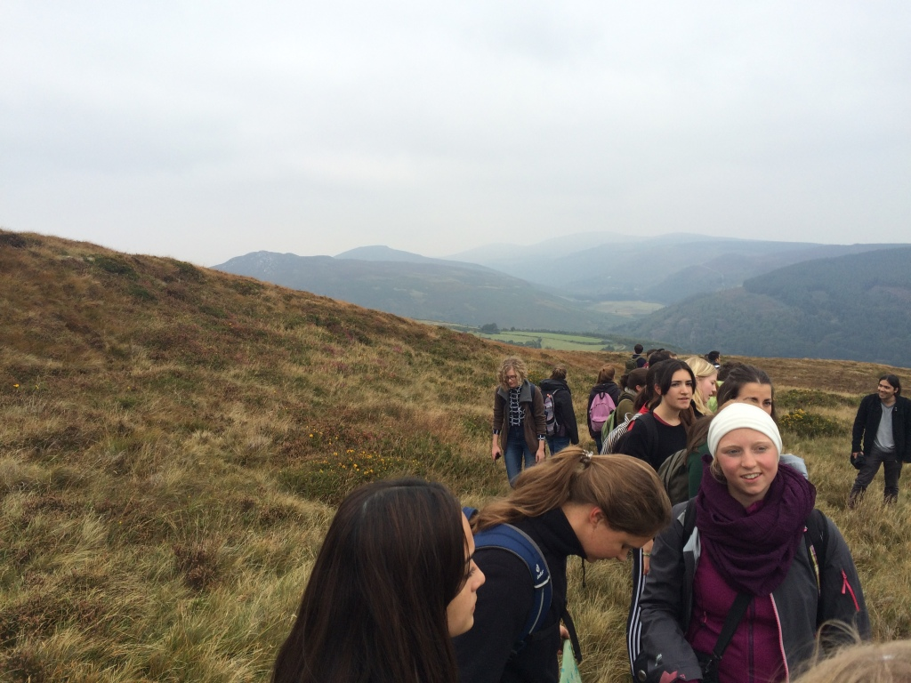 I went with the outdoor society at my uni. There were clearly plenty of people on the hike.